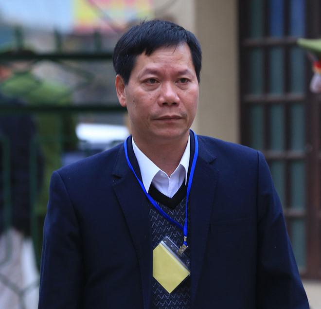 Bị cáo Trương Qúy Dương đến tòa.