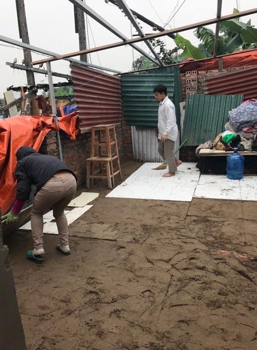 Một số công trình nhà ở kiên cố đã bị UBND phường Định Công cùng lực lượng chức năng tiến hành cưỡng chế trả lại nguyên trạng ban đầu.