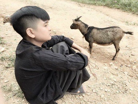 20 tuổi nhưng Huỳnh Tuấn Anh chỉ cao 1m40.