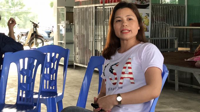 Chị Nguyễn Thị Hương cũng mong muốn, nếu phải di dời sẽ có được một vị trí kinh doanh mới. Đồng thời được đền bù tài sản trên đất.