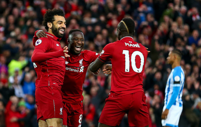 Salah cũng chơi khá hay với 2 pha lập công.
