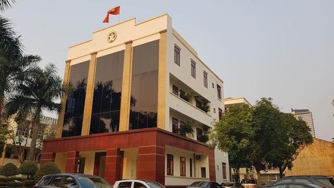 Trụ sở Thanh tra tỉnh Thanh Hoá - nơi 5 cán bộ vừa bị khởi tố làm việc