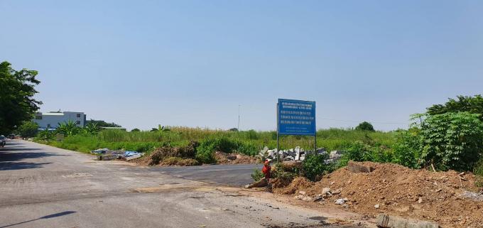 Khu đất dịch vụ 10% mà người dân phường Đồng Kỵ đang đòi quyền lợi nhưng vị phó chủ tịch phường lại khẳng định người dân không lấy đất dich vụ.