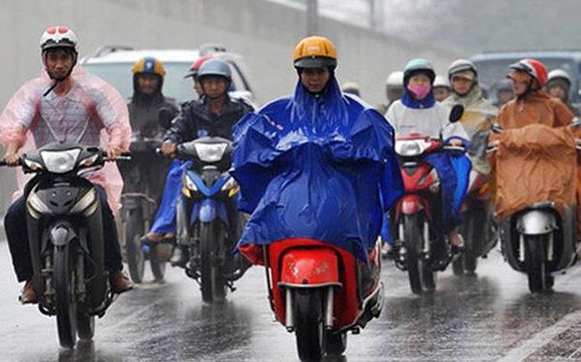 Hà Nội chuyển mưa rét