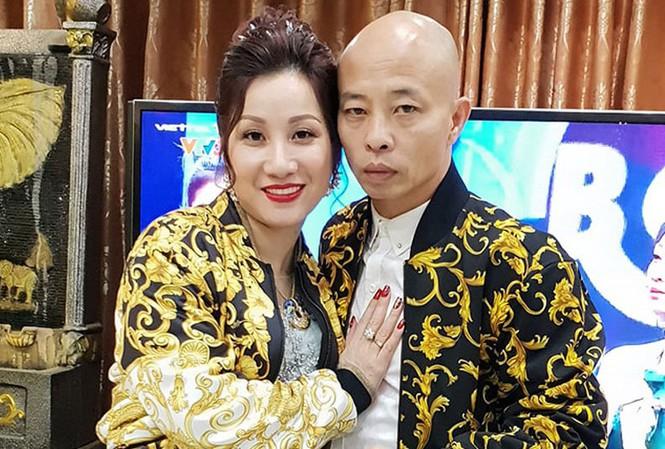 Vợ chồng Đường 'Nhuệ' trước khi bị bắt.