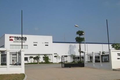 Trụ sở Công ty Tenma Việt Nam tại Khu Công nghiệp Quế Võ, tỉnh Bắc Ninh. Ảnh TTTĐ.