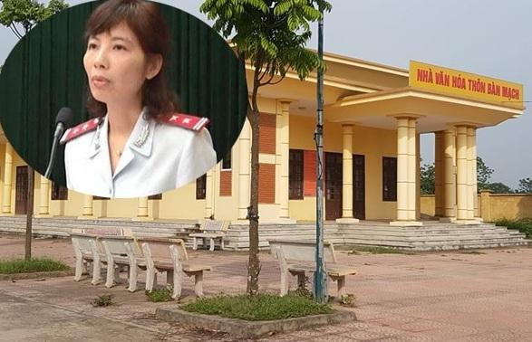 Nguyễn Thị Kim Anh - Trưởng đoàn thanh tra bộ Xây dựng được xác định là chủ mưu vụ nhận hối lộ tại Vĩnh Phúc.