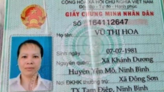 Vũ Thị Hoa bị khởi tố về tội lừa đảo, chiếm đoạt tài sản