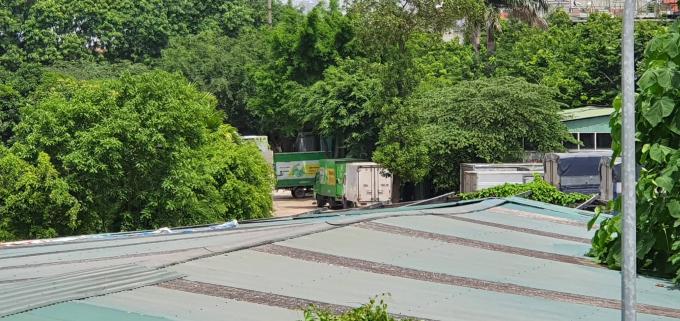 Một phần diện tích của Công ty KAT tại Đầm Bầu trước đó bị đơn vị khác san ủi làm bãi xe trái quy định được cho là nguyên nhân dẫn tới vụ việc đánh nhau (ảnh tư liệu)
