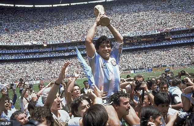 Vô địch World Cup 1986 chính  là chiến tích vĩ đại nhất của Maradona.
