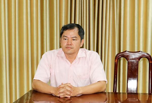 Bị can Nguyễn Xuân Huy tại cơ quan điều tra. Ảnh: Vietnamnet.