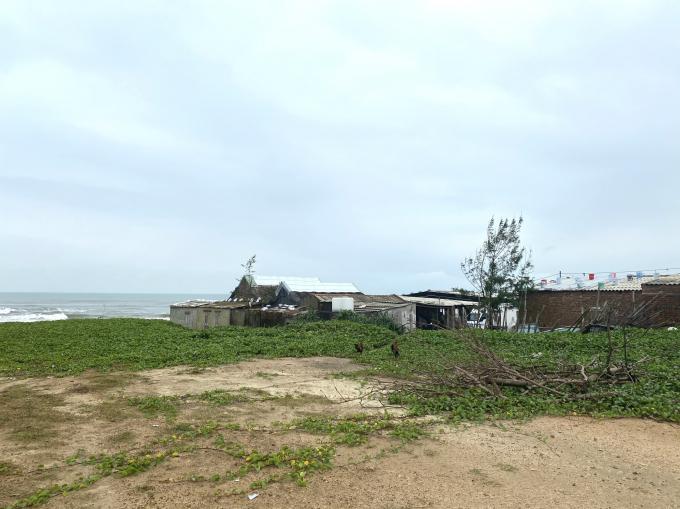 Hiện trường dự án Khu dân cư Làng Chài, phường Điện Dương, Điện Bàn, tỉnh Quảng Nam.