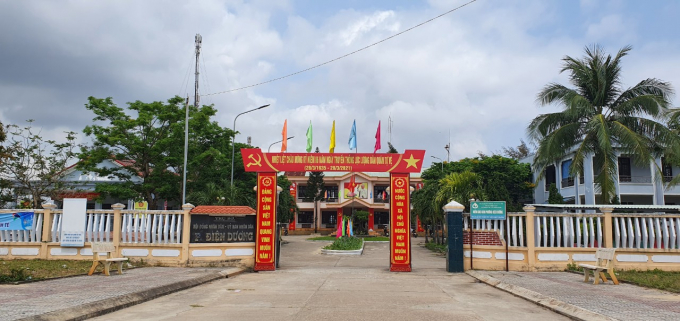 Trụ sở UBND phường Điện Dương.
