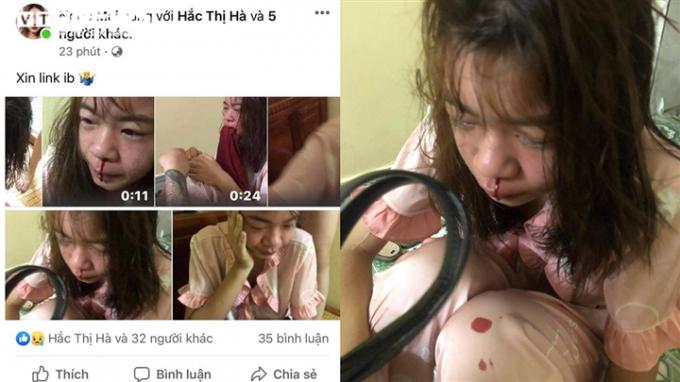 Nạn nhân bị đánh dập dã man rồi bị quay clip đăng tải lên mạng xã hội gây bức xúc dư luận.