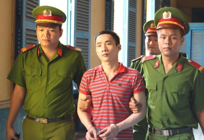 Hung thủ bị xét xử tại TAND cấp cao tại TP HCM.