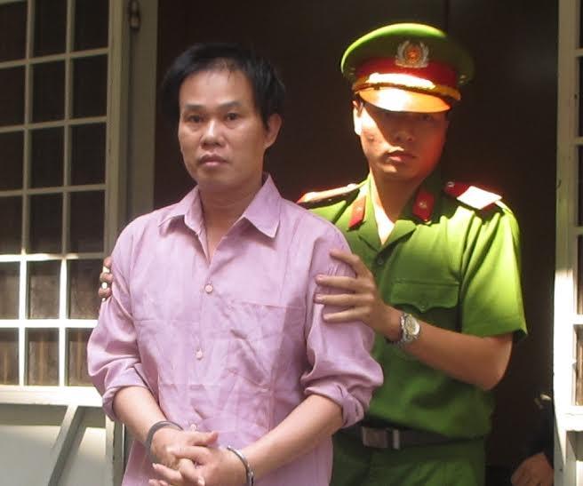 Bị cáo tại tòa sơ thẩm.