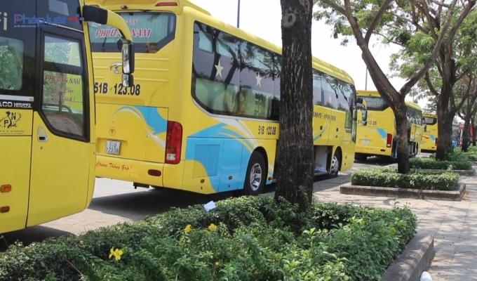 Từ ngày 8/3 ô tô trên 9 chỗ sẽ không được đỗ trên đường Mai Chí Thọ theo các khung giờ nhất định.