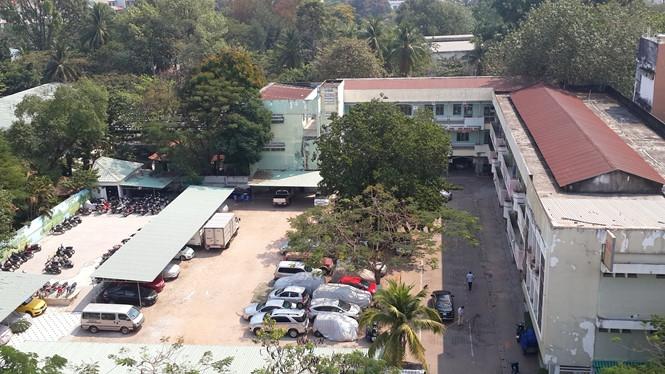 Dự án VFC trở thành một bãi giữ xe rộng lớn.