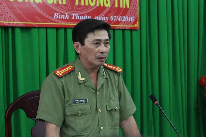 Đại tá Nguyễn Văn Nhiều – Chánh văn phòng Công an tỉnh Bình Thuận