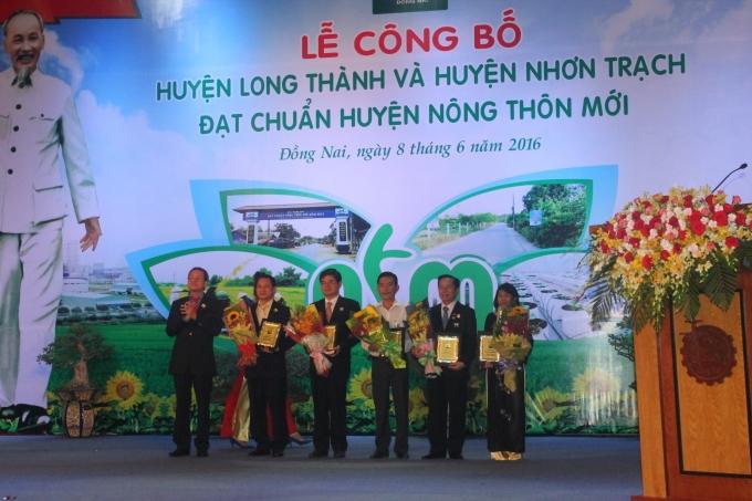 Vedan tài trợ cho lễ công bố nông thôn mới ở Đồng Nai
