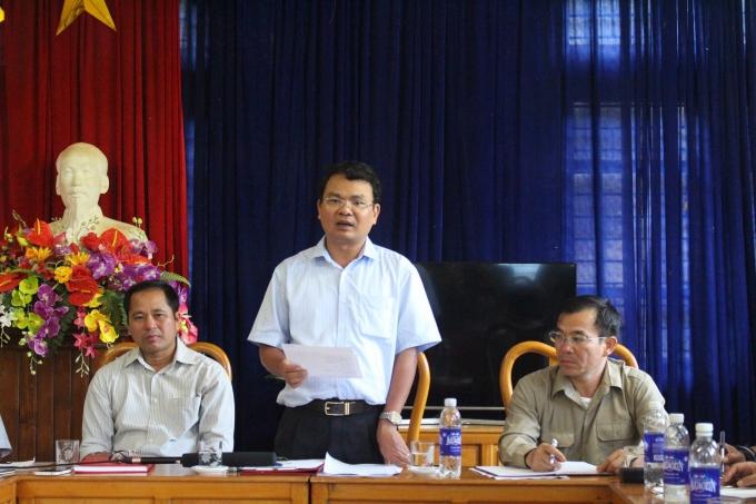 Ông Đặng Xuân Phong -Chủ tịch UBND tỉnh Lào Cai.