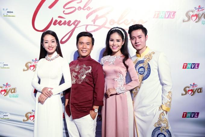 """Trác Thúy Miêu, Quý Bình làm MC """"Solo cùng Bolero 2016"""""""