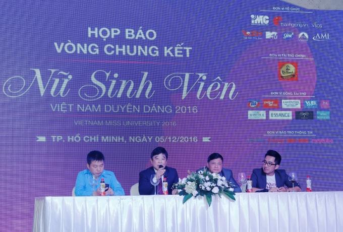 BTC công bố về vòng chung kết cuộc thi và đêm chung kết VMU 2016.