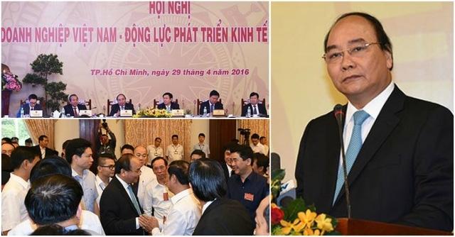 Thủ tướng yêu cầu chính quyền các cấp phải tạo mọi điều kiện cho người dân kinh doanh và doanh nghiệp phát triển.
