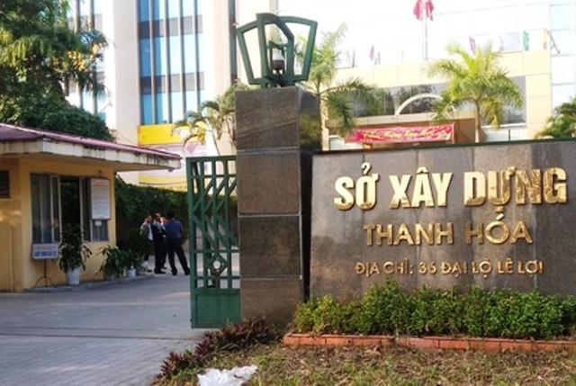Sở Xây dựng tỉnh Thanh Hóa. (Ảnh Dân trí)