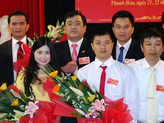 Bà Trần Vũ Quỳnh Anh khi còn công tác tại Sở Xây dựng tỉnh Thanh Hoá. (Ảnh báo Thanh Niên)