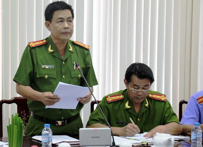 Đại tá Trương Ngọc Danh, Phó giám đốc Công an Cà Mau. (Ảnh Zing.vn)