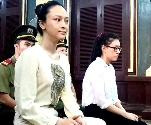 Trương Hồ Phương Nga tại tòa.