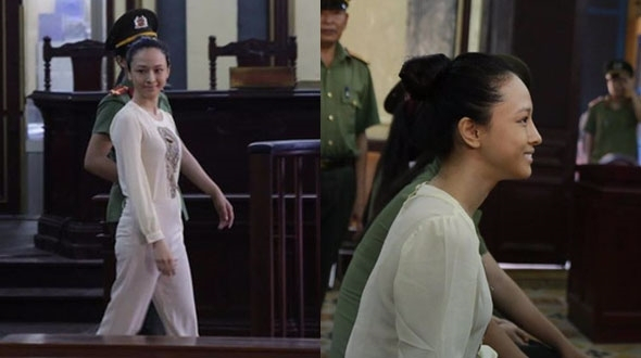 Hoa hậu người Việt tại Nga Trương Hồ Phương Nga đang là cái tên được dư luận chú ý vì những vấn đề liên quan tới lừa đảo. (Ảnh báo Phụ nữ)