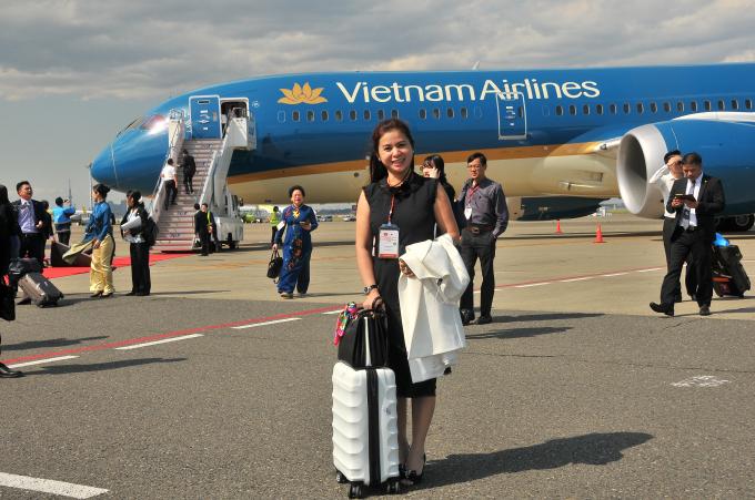 CEO của công ty TNI Coporation - Lê Hoàng Diệp Thảo.