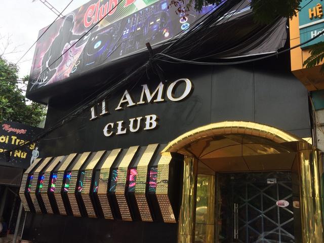 Hàng chục dân chơi tại quán bar này có phản ứng dương tính với chất gây nghiện (ảnh Đ.M)