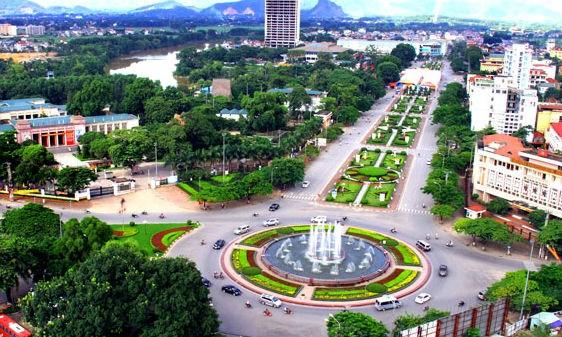 Một góc Thành phố Thái Nguyên. Ảnh: Khắc Thiện/Báo Thái Nguyên