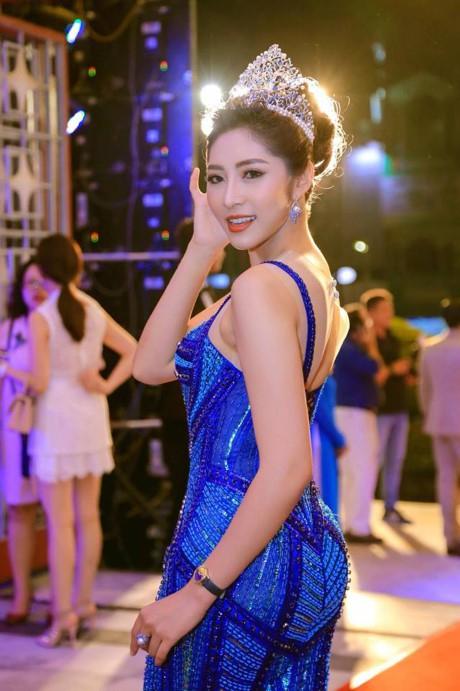 Đặng Thu Thảo - Hoa hậu Đại Dương 2014 đòi trả lại vương miện nhưng vẫn chưa có ý kiến từ BTC. Ảnh: TL.