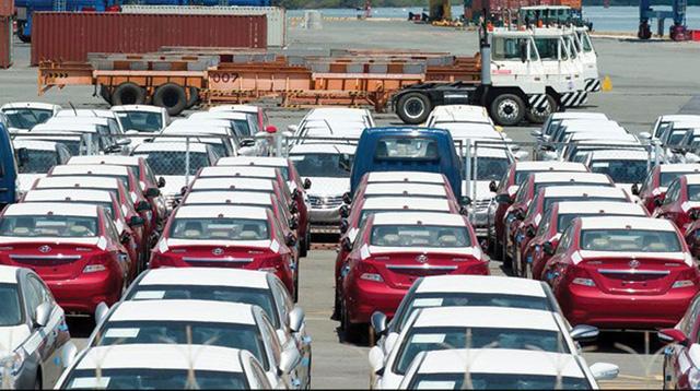 Xe Thái, Indonesia chiếm gần 60% lượng xe nhập ở Việt Nam bất chấp xe nhiều nước khác giảm mạnh.