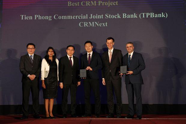 TPBank là ngân hàng dành được nhiều giải thưởng nhất trong các hạng mục liên quan đến ngân hàng số do TAB trao tặng.