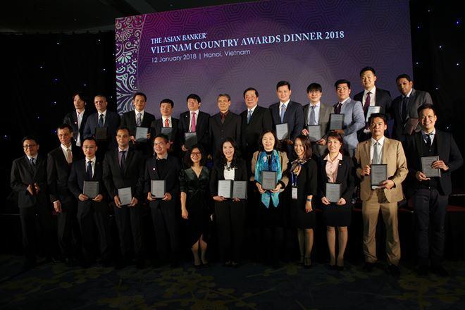 Những ngân hàng thắng giải trong sự kiện thường niên The Asian Banker Vietnam Country Awards của TAB