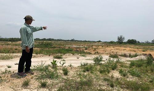 Cả ngàn ha đất màu mỡ bị dự án trái phép thu hồi san lấp thành vùng đất