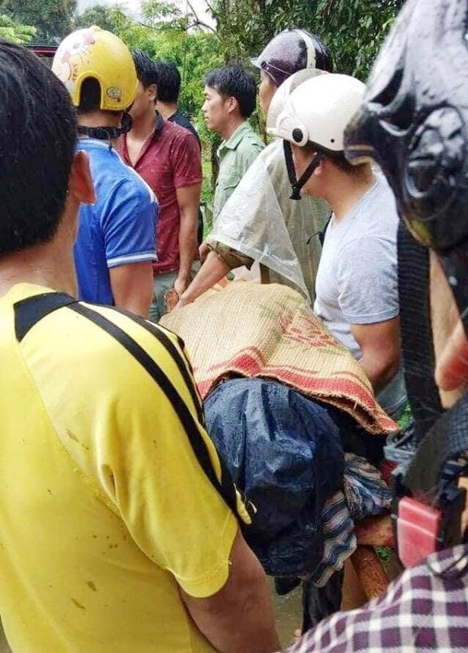 Thi thể của ông Tài được tìm thấy tại xã Sơn Lương, huyện Văn Chấn.