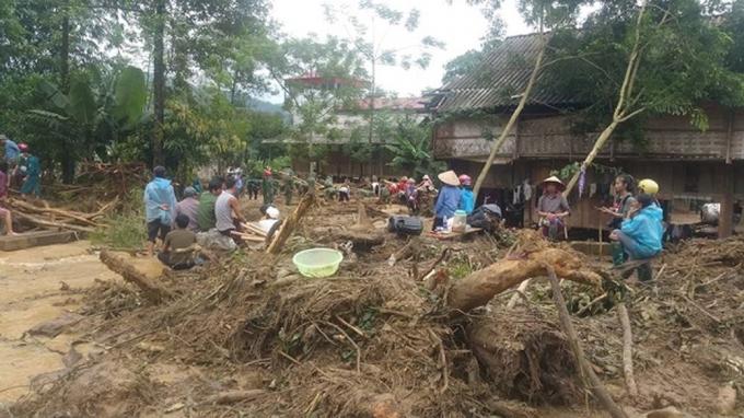 Hiện tại tỉnh Yên Bái còn nhiều người bị mất tích, chưa thể tìm thấy thi thể.