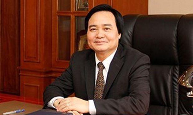 Bộ trưởng Bộ GD&ĐTPhùng Xuân Nhạ.