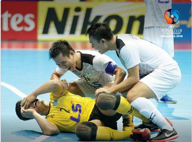 Thái Sơn Nam vừa gây địa chấn ở giải futsal các CLB châu Á.