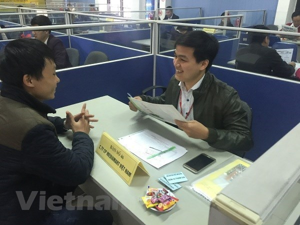 Phỏng vấn tuyển dụng lao động. (Ảnh minh họa: Hồng Kiều/Vietnam+)