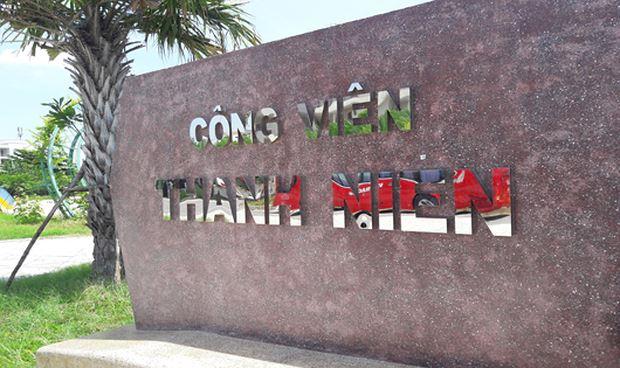 Công viên Thanh niên Đà Nẵng.