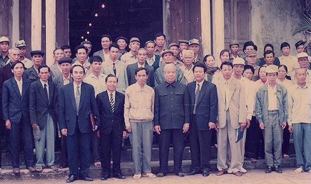Đồng chí Đỗ Mười dành tình cảm đặc biệt cho nhân dân huyện Vĩnh Bảo.
