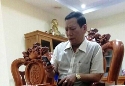 Ông Đậu Minh Ngọc - Bí thư Huyện ủy Quảng Trạch phải kiểm điểm về những sai phạm cá nhân (ảnh: NLĐ).