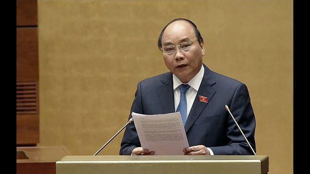 Thủ tướng Chính phủ Nguyễn Xuân Phúc đăng đàn Quốc hội chiều nay.